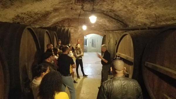Cellar Tour of the Oldest Winery in America