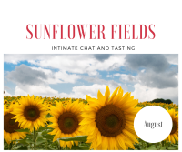 Wine Tasting Sunflowers HUdson Valley